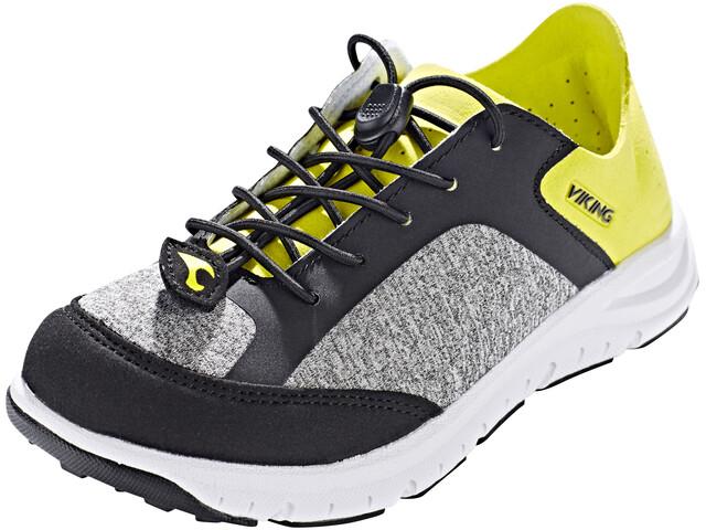 Viking Footwear Ullern Shoes Junior grey/lime